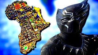 Building the City of Wakanda in Africa (Cities Skylines)