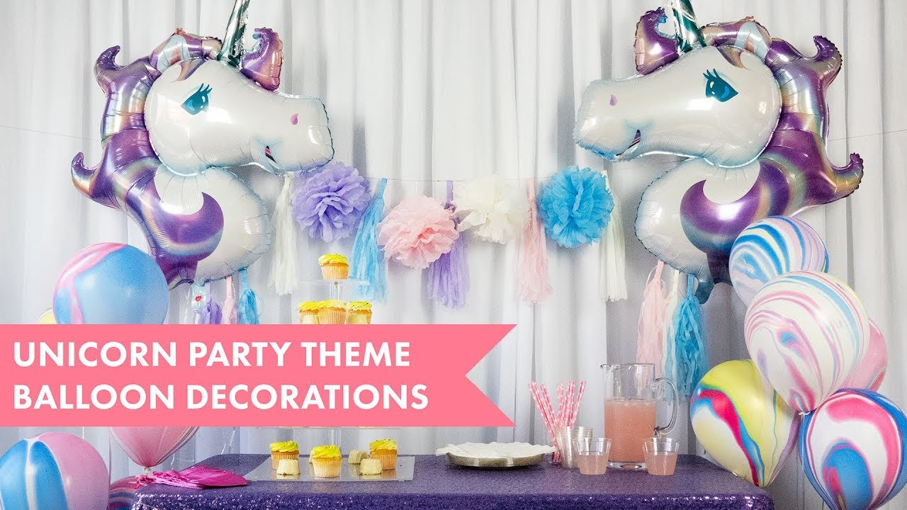 DIY Unicorn Party Decorations 🦄 | BalsaCircle com