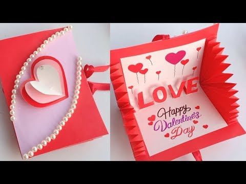 How to make Valentine's Day Card // Handmade easy card Tutorial