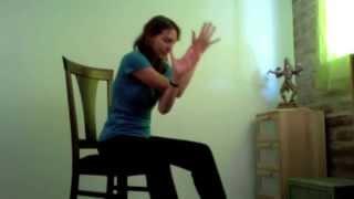 Chair Yoga practice #1
