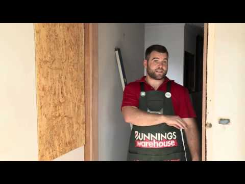 How to Install a Door Jamb - DIY At Bunnings - YouTube Internal Sliding Door Frame Bunnings on