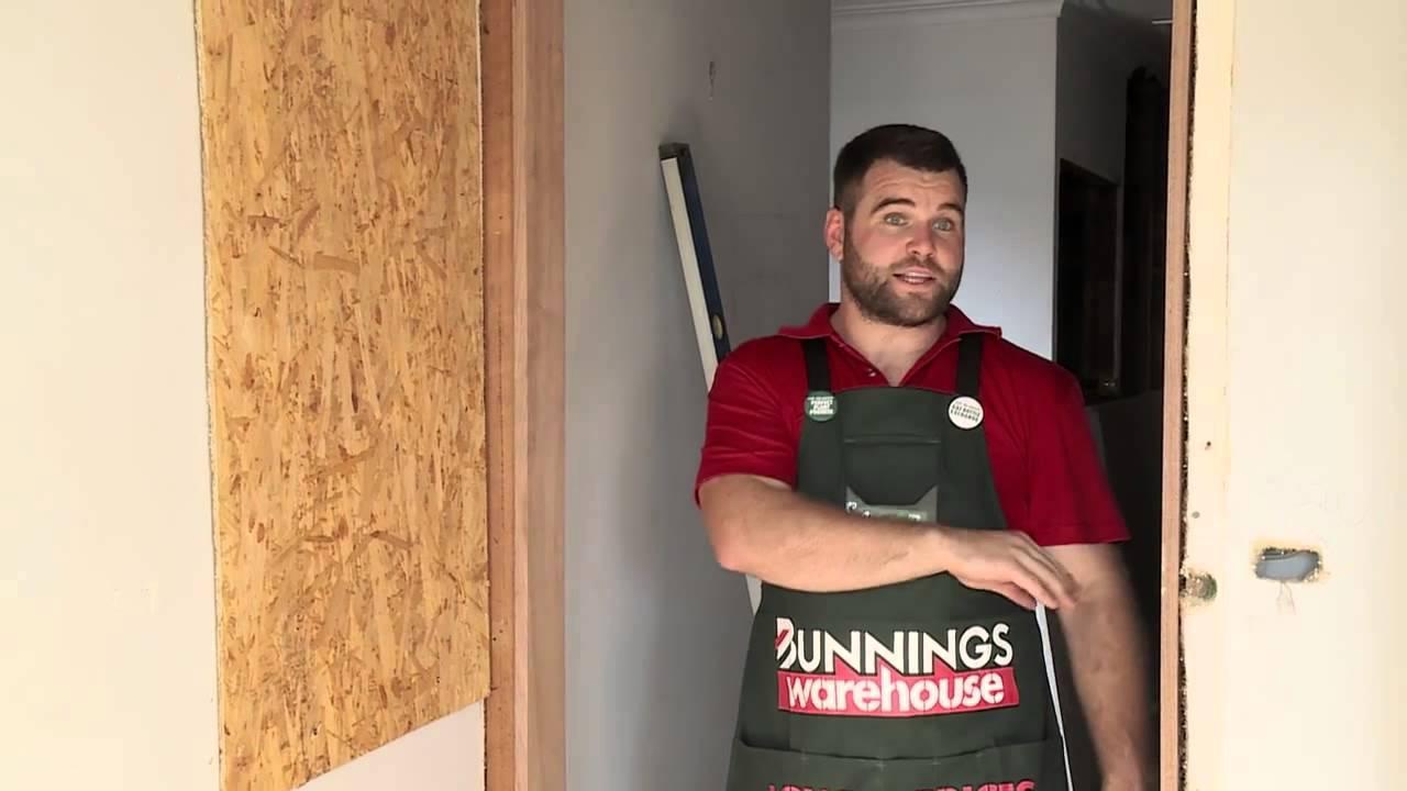 How to Install a Door Jamb - DIY At Bunnings