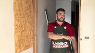 How to Install a Door Jamb - DIY At Bunnings Free HD Video