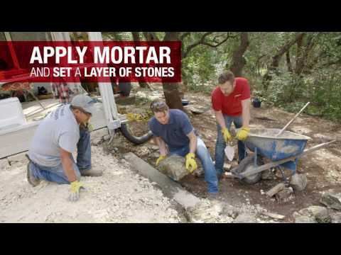 How to Build a Retaining Wall | Troy-Bilt®