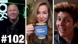 102 hollywood trump tantrums alex jones sally kohn and cassie jaye   louder with crowder