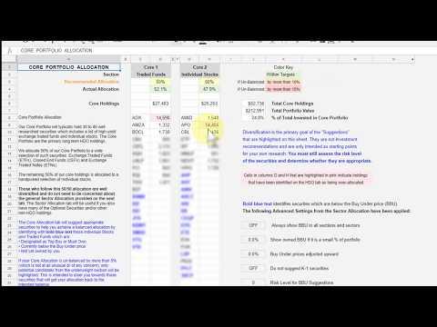 HDO Portfolio Tracker Overview