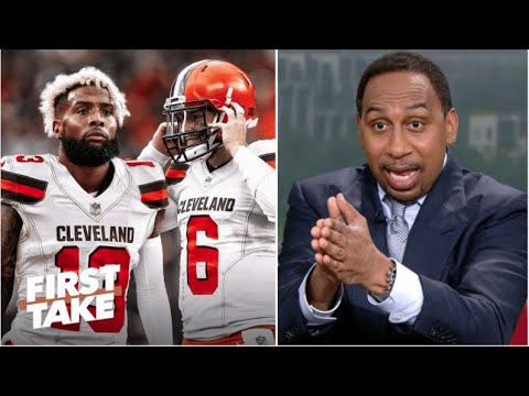 Download FIRST TAKE   Stephen A. explaims Why Baker Mayfield & Odell Beckham never win a Super Bowl together