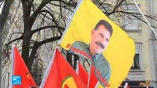 آلاف الأكراد يتظاهرون في ستراسبورغ للمطالبة بالإفراج عن عبد الله أوجلان