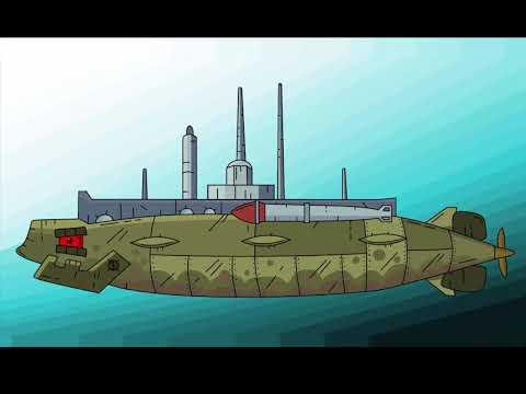Подлодка Дельфин от Gerand'a - из  Мультики про танки