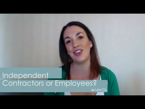 All Up In Yo' Business: Independent Contractors v. Employees