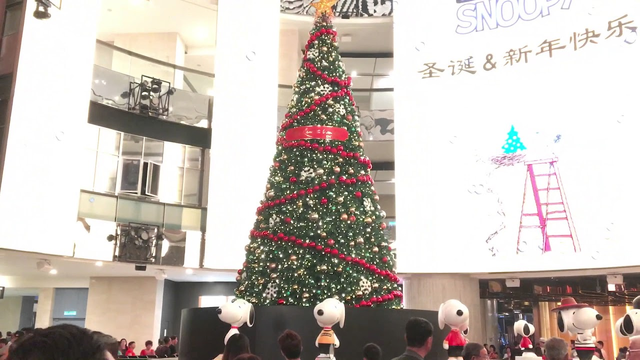 Genting SkyAvenue - Christmas Tree Disappearing - YouTube