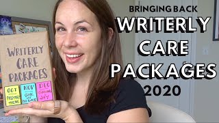 RE-OPENING Writerly Care Packages 📦🎁 📫  [TEMPORARILY for Oct, Nov, & Dec 2020]! 🎉