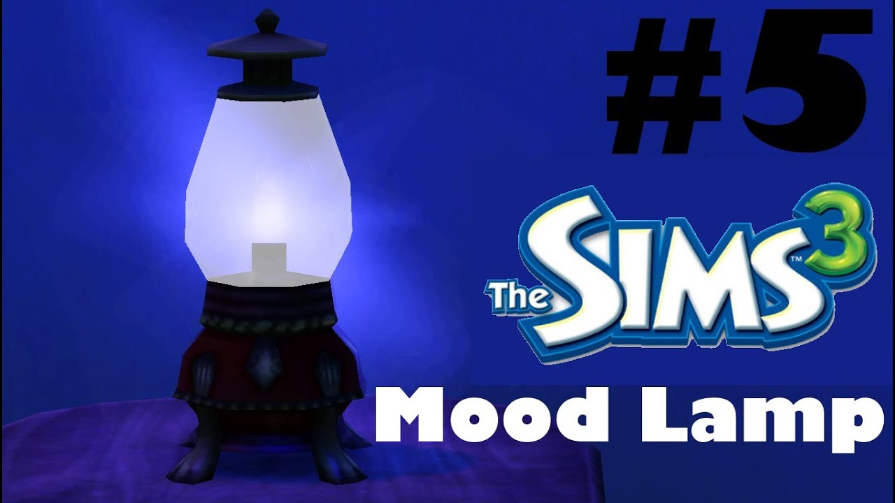 Let's Play The Sims 3: S1 Part 5 (Mood Lamp) - YouTube