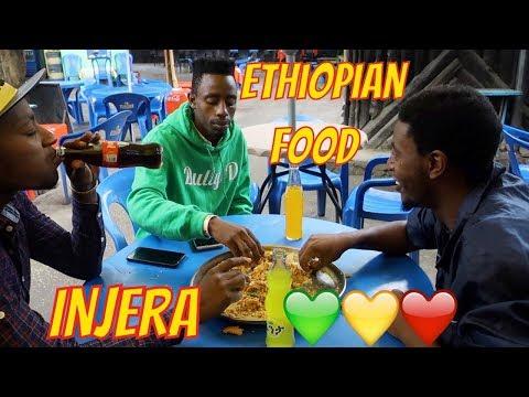 Mukbang style eating Ethiopian Food with my bros (travel vlog part 2)