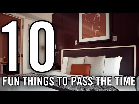 Fun Things To Do In A Hotel Room | DefinitelyOwen - YouTube