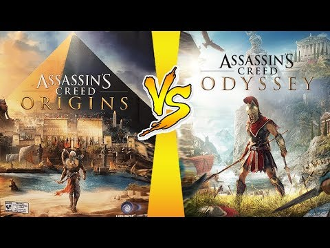 مقارنه بين لعبة Assassin's Creed Origins VS Assassin's Creed Odyssey
