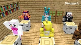 FNAF Monster School: Smart Freddy - Minecraft Animation (Five Nights At Freddy's)