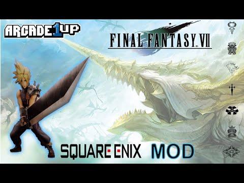 Final Fantasy VII Arcade1up Mod!! from MadDadsGaming