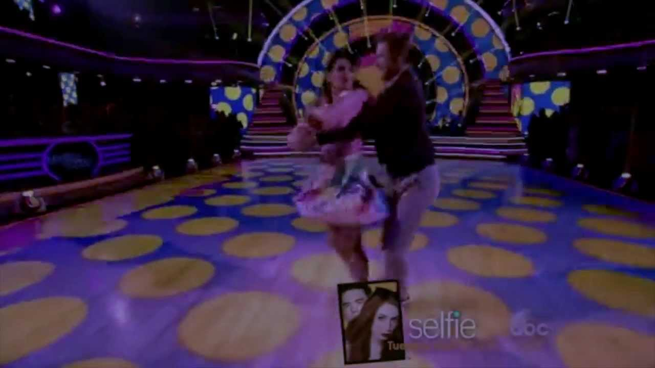 dwts 19 week 8 bethany and derek dating