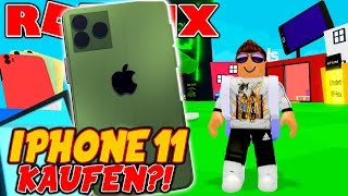 BUY IPHONE 11?! (Roblox)