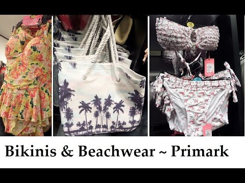 Bikinis & Beachwear ~ New at Primark Spring 2015 ~ IlovePrimark