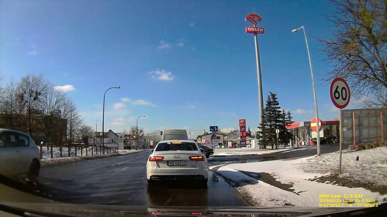 Driving in Poland -   MIO MIVUE c330 dash cam test