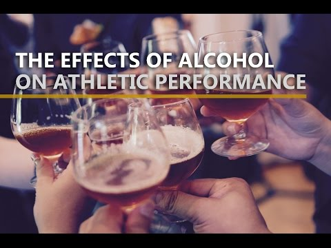 Effects of Alcohol on Athletic Performance
