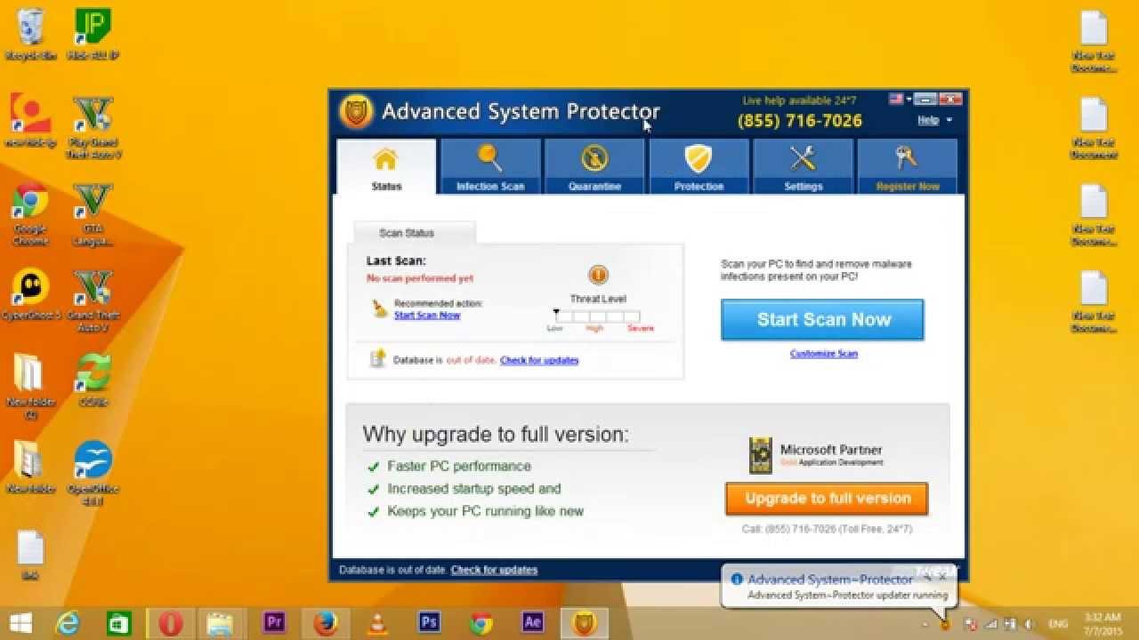 Скачать ключ к advanced system protector бесплатно