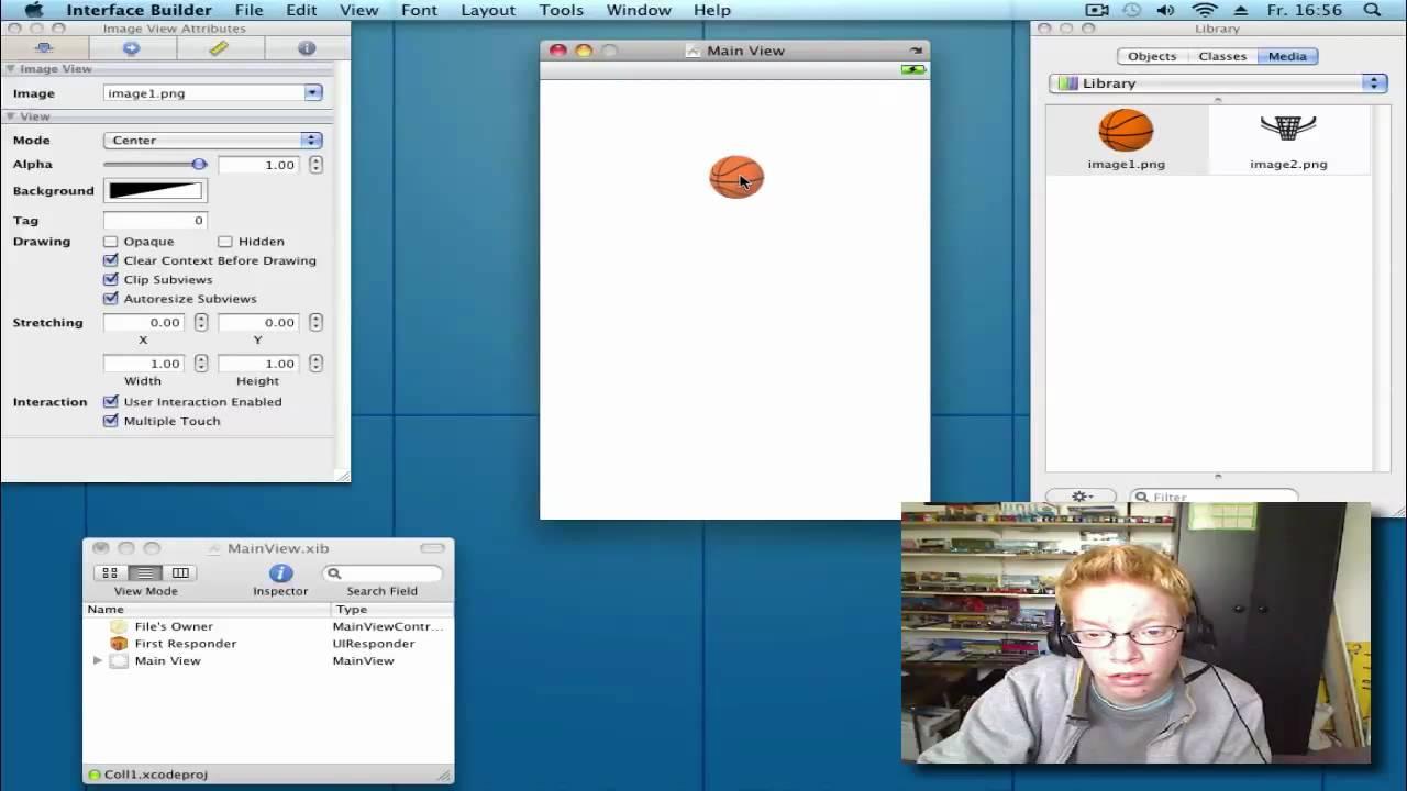 Drawing Line Xcode : Xcode iphone sdk tutorial: cgrectintersectsrect uiimageview