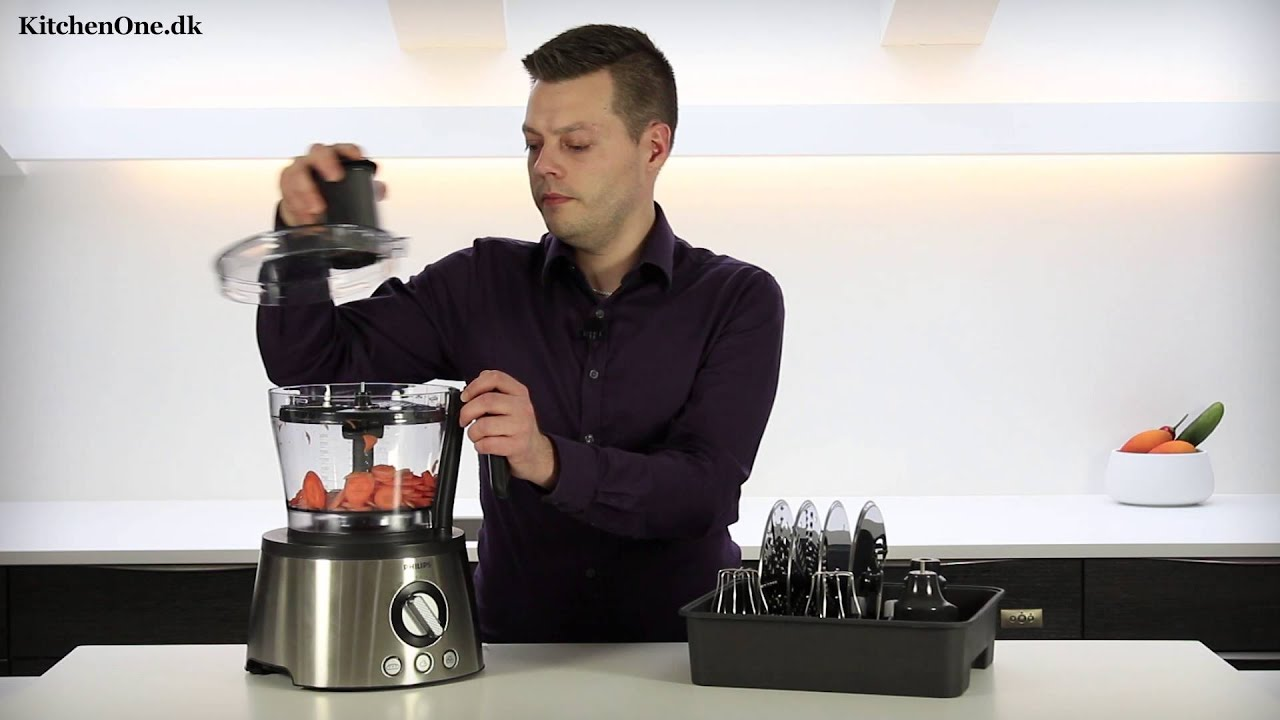 Philips Hr7778 Foodprocessor Test Youtube