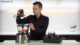 Philips HR7778 foodprocessor test