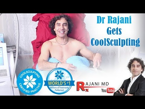 Dr. Rajani Gets CoolSculpting