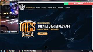 [Live] Relacja MCS League + Wiecej spoilerow z RPG