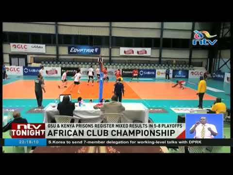 African Volleyball club championship: GSU and Kenya Prisons register mixed results in 5-8 playoffs