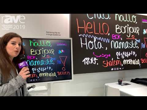 ISE 2019: SAMSUNG Features Its FLIP Board Conferencing Display Solution Mp3