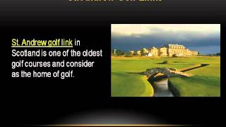 Play on Finest Golf Courses with St  Andrews Golf Packages