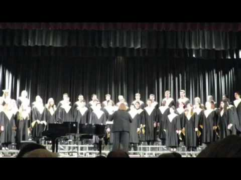 Hold Steady with the Gate, NKHS Select Choir, Christopher Cook