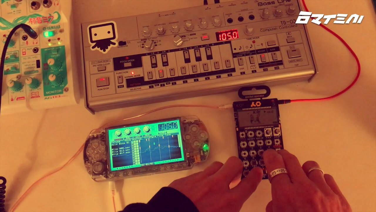 Download PSP vs Roland breakbeat acid