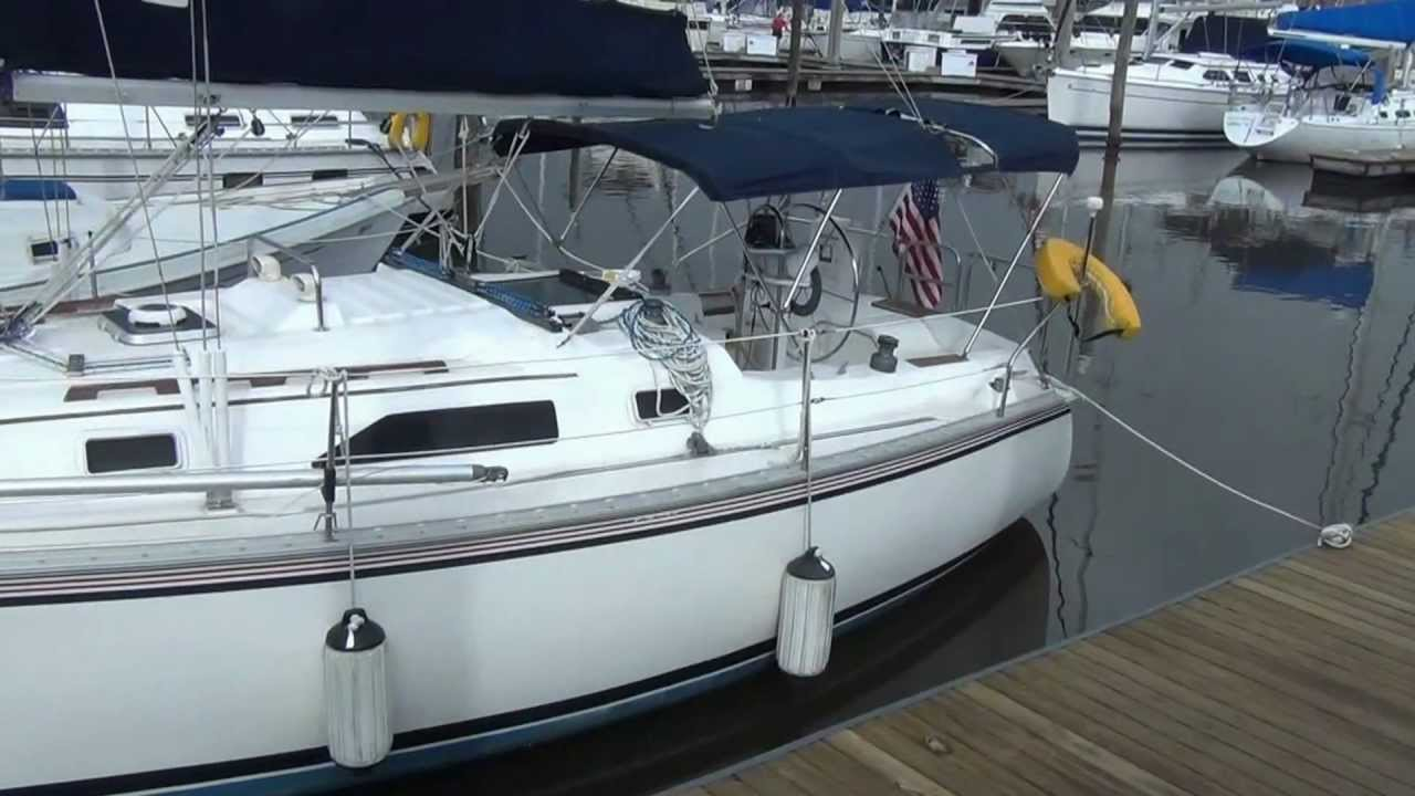 SOLD Hunter 31 Overkill Sailboat At Little Yacht