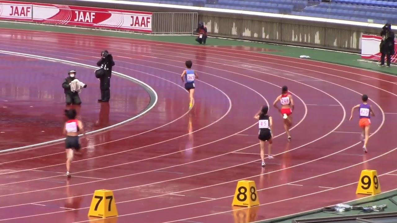 2020全中陸上 女子800m決勝