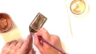 видео Изготовление  багажных  бирок