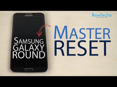 Samsung Galaxy Round Master reset