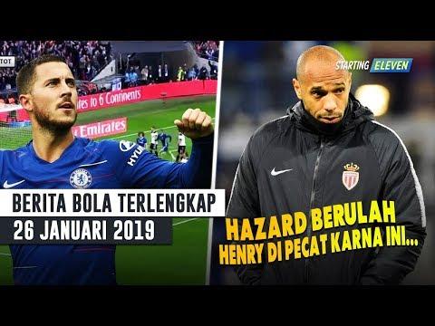 Eden Hazard Bikin Ulah saat Melawan Tottenham ⚽️ Thierry Henry Resmi Pecat (Berita Bola Terlengkap)