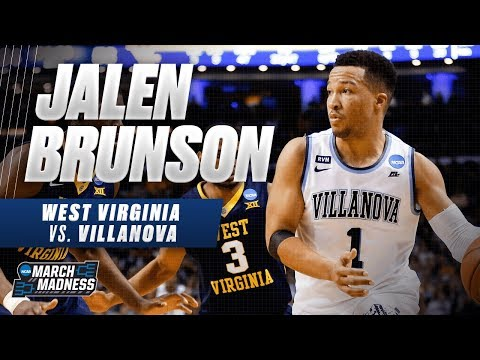 Villanovas Jalen Brunson drops 27 points on West Virginia in the Sweet 16