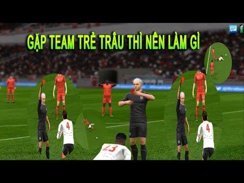 Đá online gặp trẻ trâu và cái kết Dream League Soccer 2019