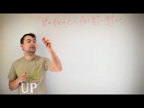 Как выделять полный квадрат