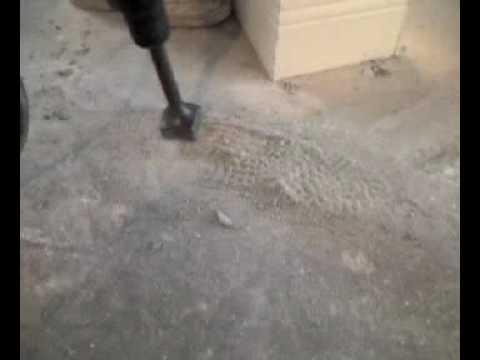 Bushing Hammer Tip Florida Slab Hump High Spot Removal