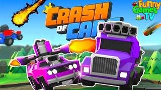 БОЙОВІ МАШИНКИ #3 відео про машинки гра як про битву тачок машин Crash of Cars