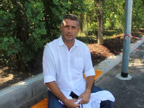 Daniele Massaro in Cascina Triulza per i Mondiali Expo