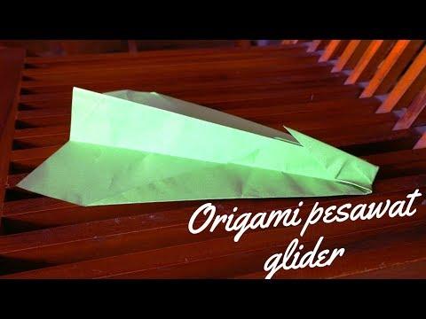 Origami Pesawat Glider sederhana Terbang jauh
